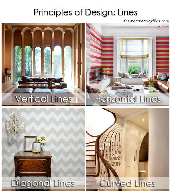 Principles Of Design Lines One Of The Basic Decorating