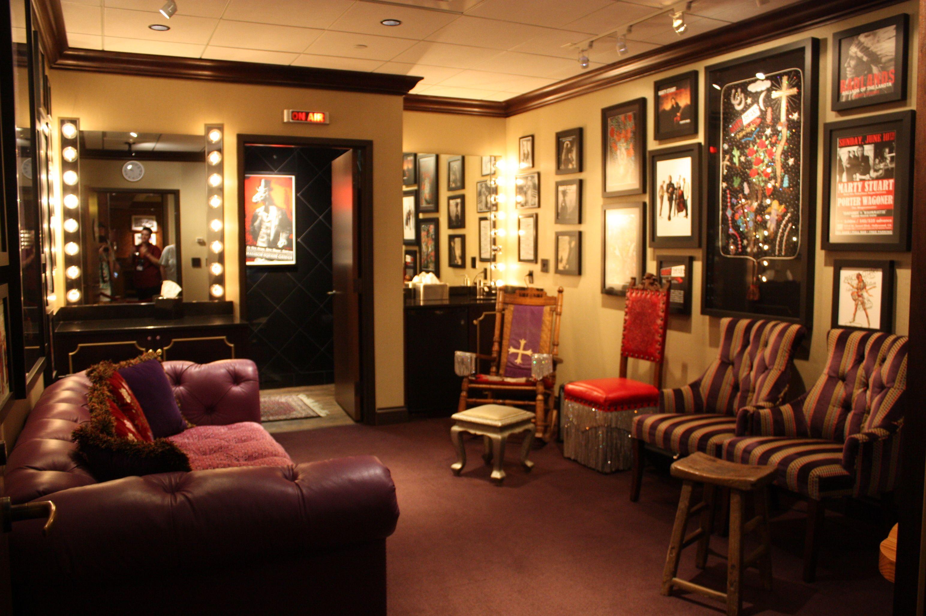 backstage dressing rooms Bing GCC Green Room