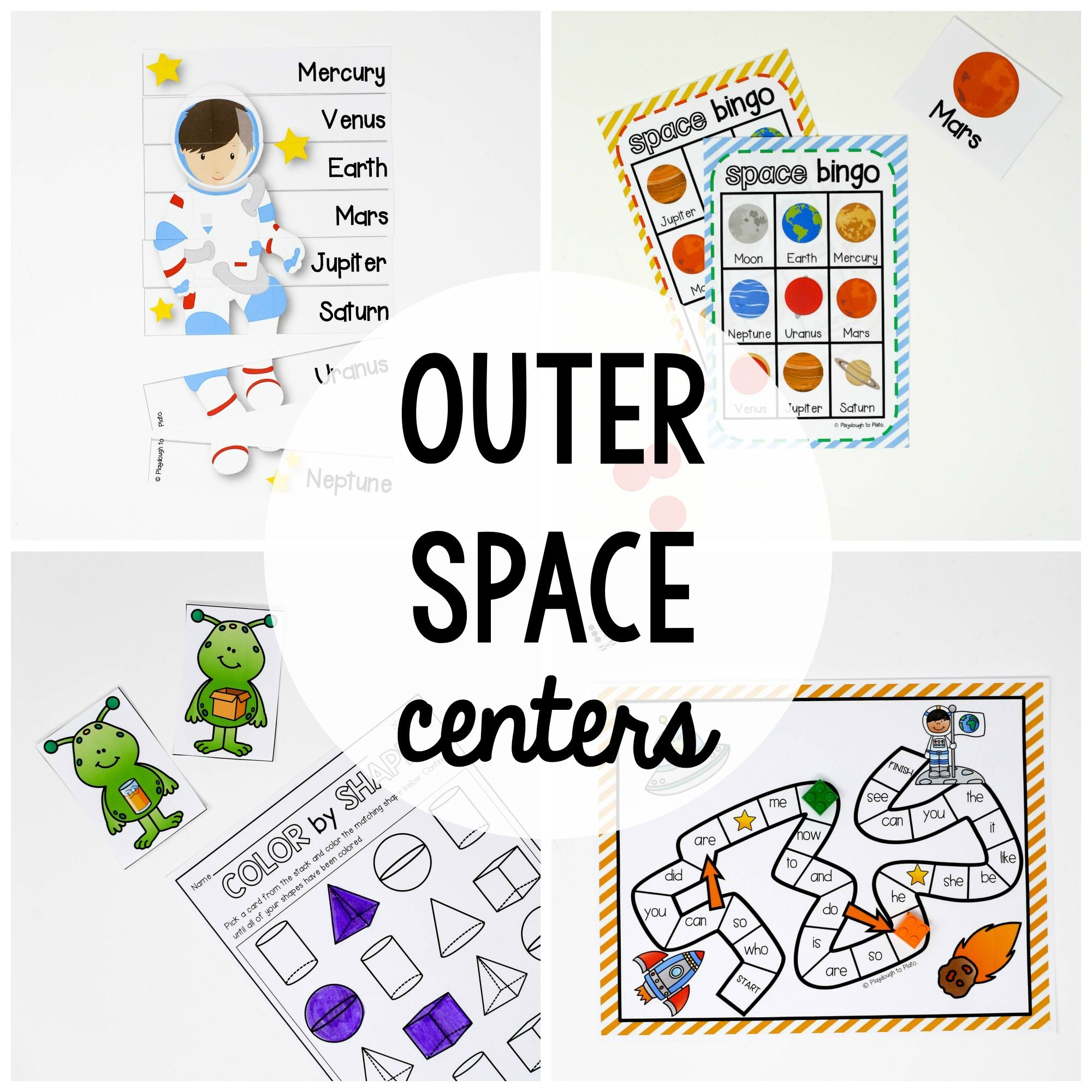Outer Space Activity Pack Space Activities Outer Space Activities Activity Pack
