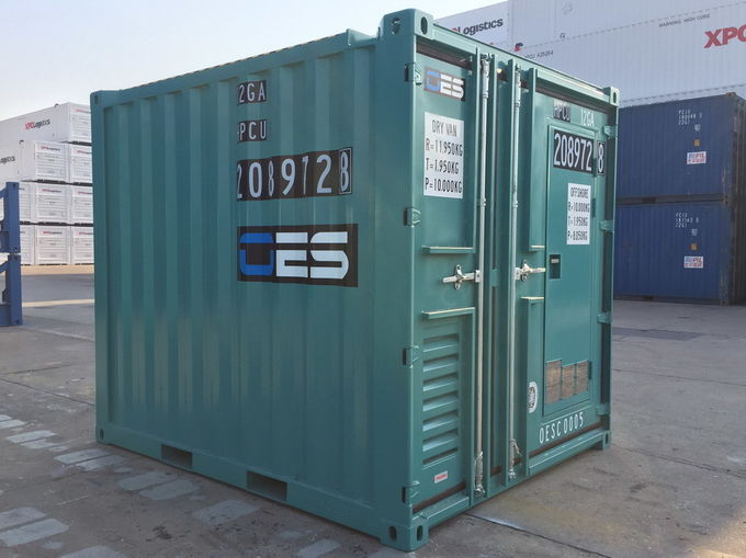 Offshore Small Shipping Containers With Man Door Dnv Standard 10 Foot Steel Floor In 2020 Small Shipping Containers Shipping Container Container House