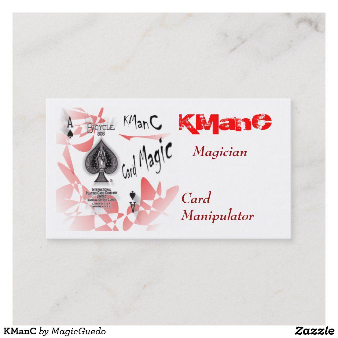 Kmanc Business Card Zazzle Com Cards Business Cards Quality Cards