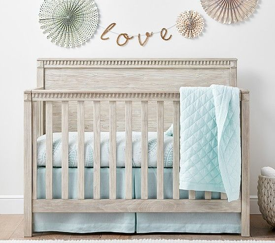 Rory 4 In 1 Convertible Crib Pottery Barn Crib Baby Cribs Convertible Convertible Crib