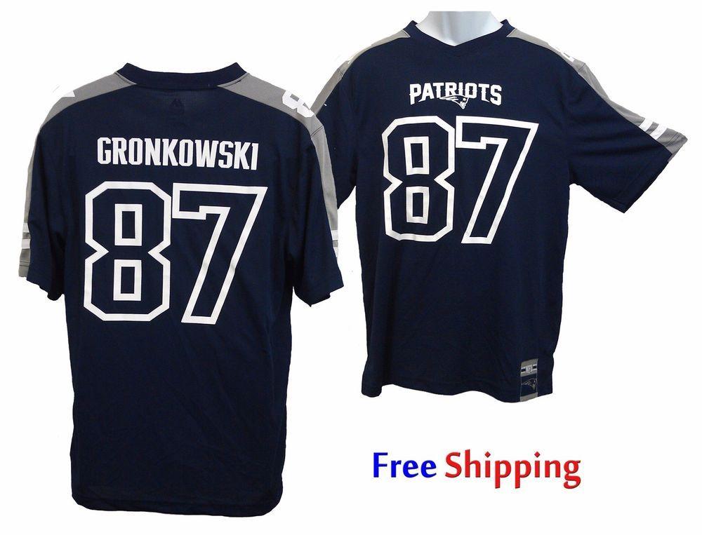 Gronkowski  87 Jersey Shirt Navy New England Patriots NEW Majestic Gronk  Mesh  Majestic  NewEnglandPatriots 4d9a2622b