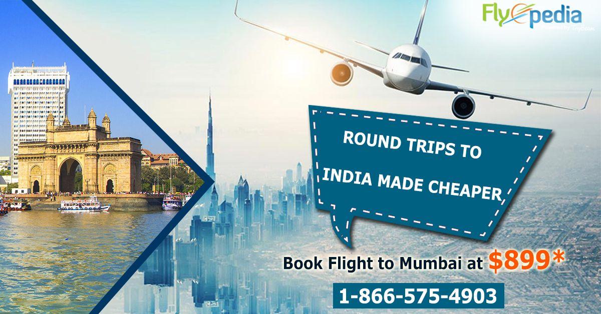 Budgetfriendly round trip flight booking to India. Get