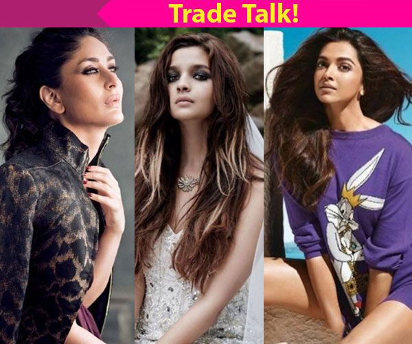 Trade Talk: Comparing Alia Bhatt to Deepika Padukone or Kareena Kapoor is UNFAIR heres why!