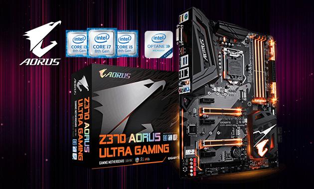 Motherboard Gigabyte Z370 AORUS Ultra Gaming | Motherboard