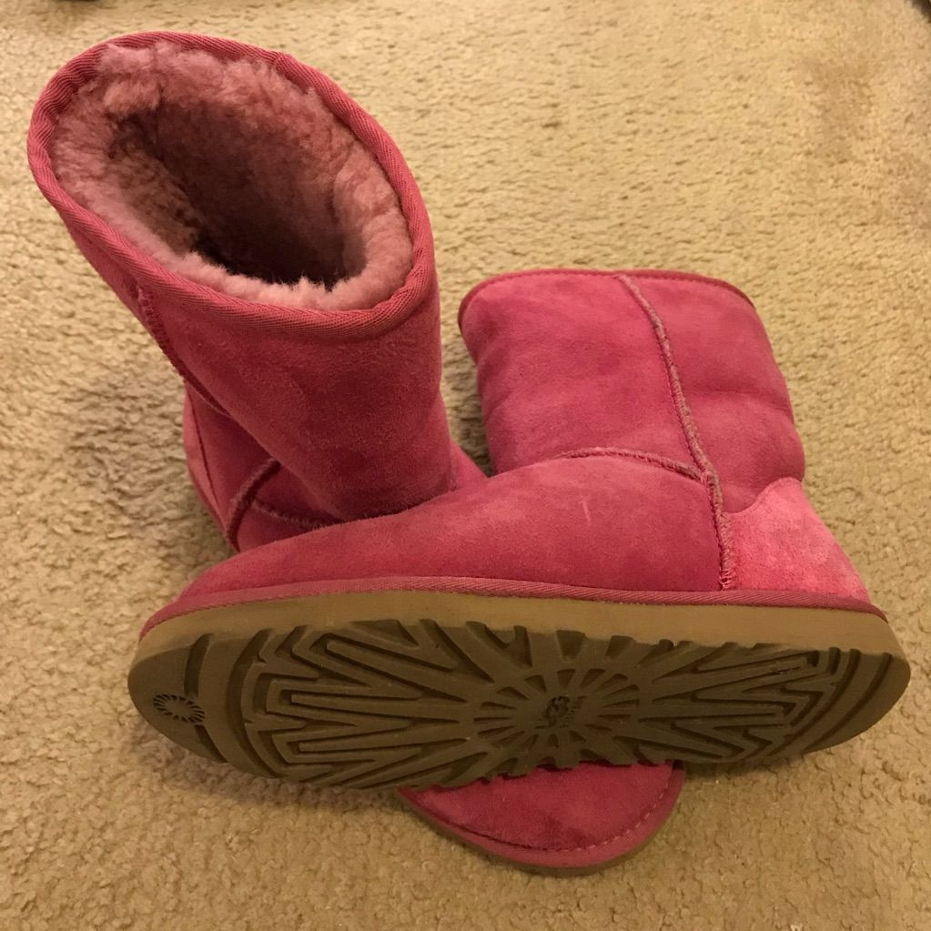 a592bddae8f UGG Shoes   Ugg Australia Classic Short Boot, Fuschia, Size 8 ...