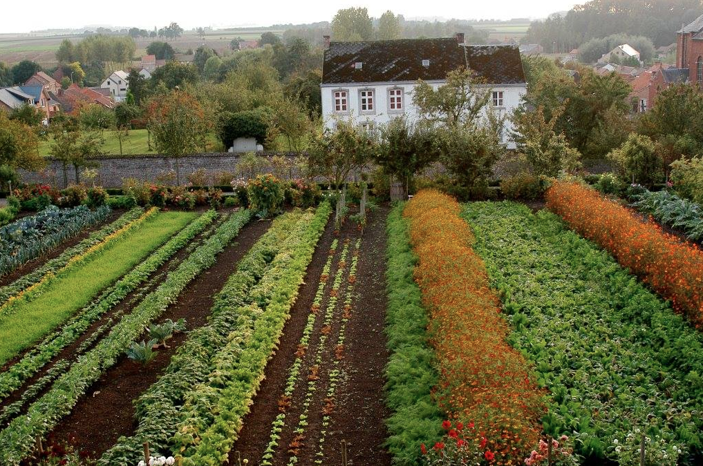 A Visit to Belgium's Most Beautiful Edible Garden is part of Most Beautiful garden - It's been called the most beautiful vegetable garden in Belgium  We think this is an understatement  Kasteel van Heks' edible garden was created 240 years