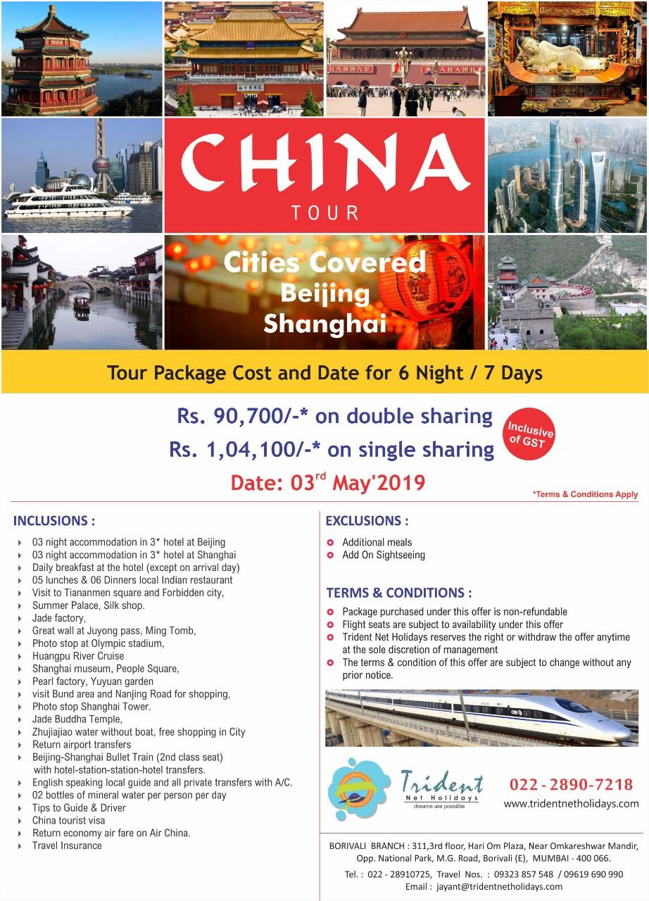 Light Your Summer Vacay This May. Travel From Chandni