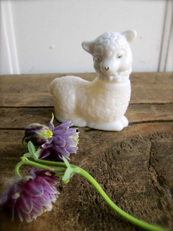 Avon+Milk+Glass+Lamb+old+Avon+bottles+++Vintage+by+LemonRoseStudio,+$14.00
