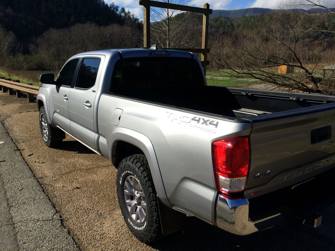 2016 Silver Toyota 4x4 Long Bed Like Toyota