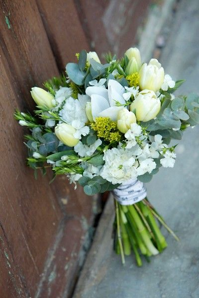 Bolita Tulipanes Blancos Gardenias Tulipanes Anemonas Pinterest