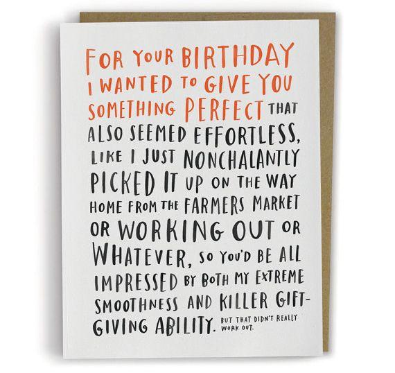 Awkward Birthday Card Fun Cards Pinterest – Awesome Birthday Greetings