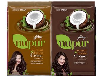 Godrej Nupur Coconut Henna Creme Hair Colour Free Sample Best