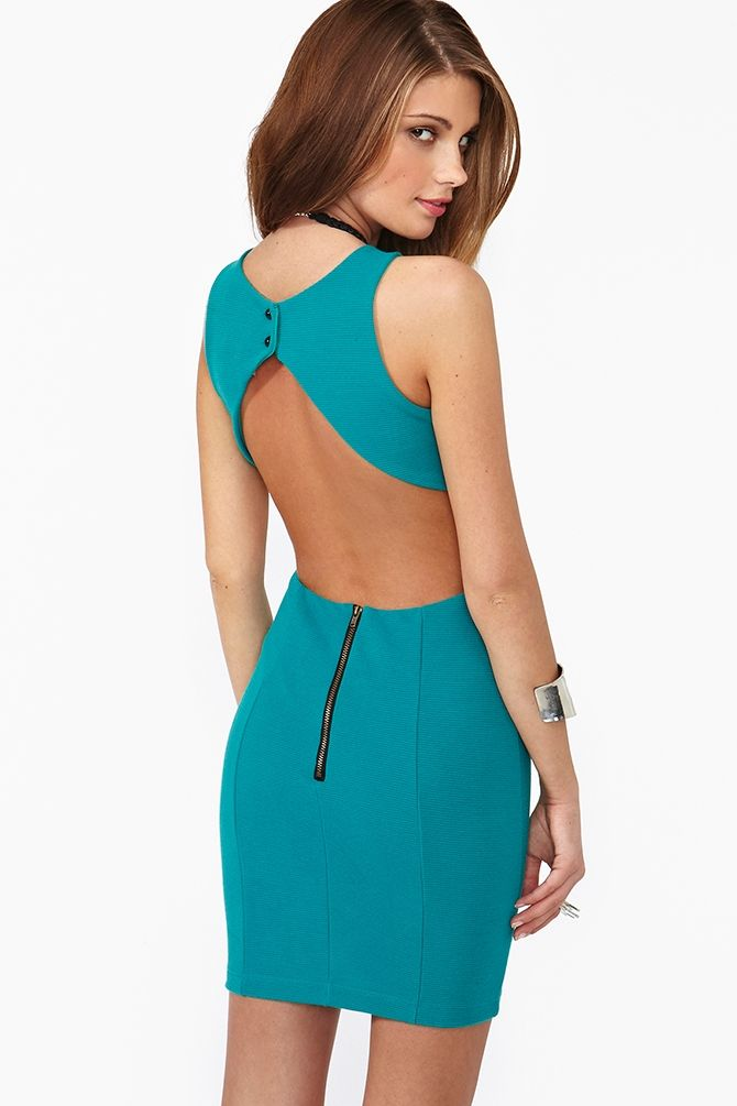 Teal Dresses for Night Out