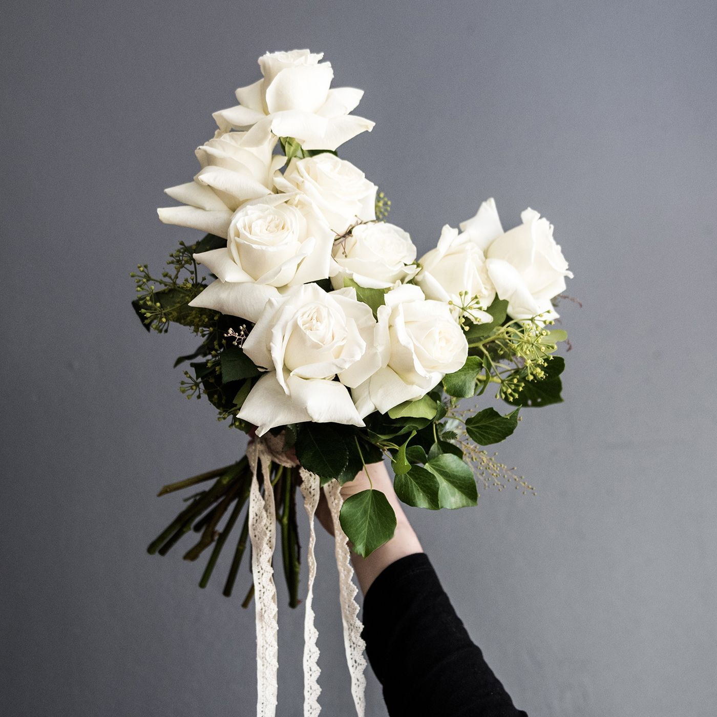 A Modern Take On A Wedding Classic, A Bouquet Of