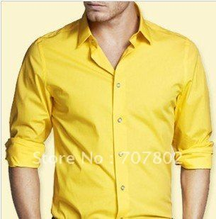 yellow slim fit shirt - Google Search | Hubbs 30th B-day | Pinterest