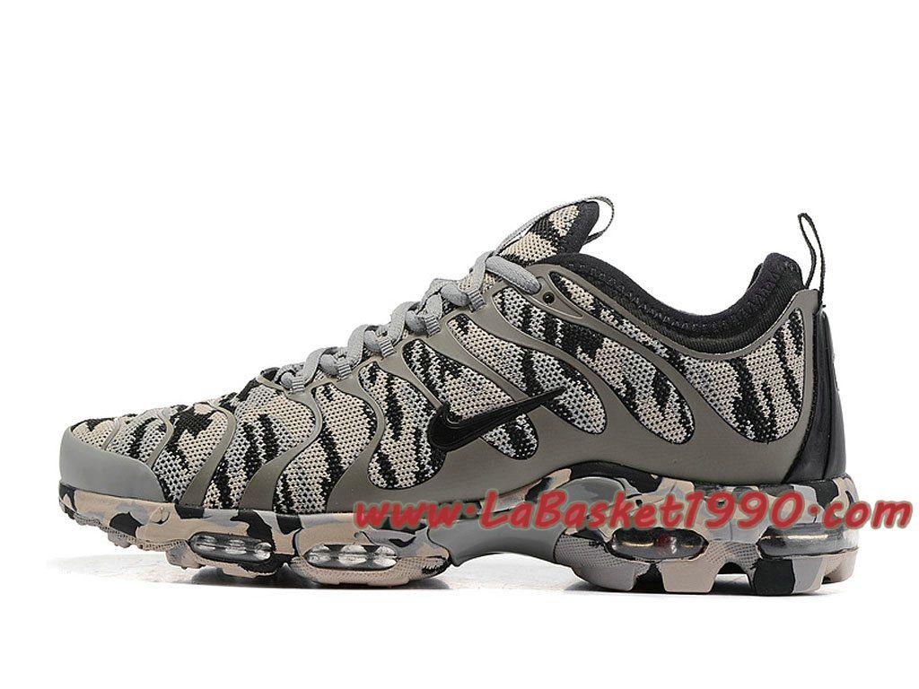Nike Air Max Plus Tn Camo Id Gris Noir Chaussures Nike Prix Pas Cher