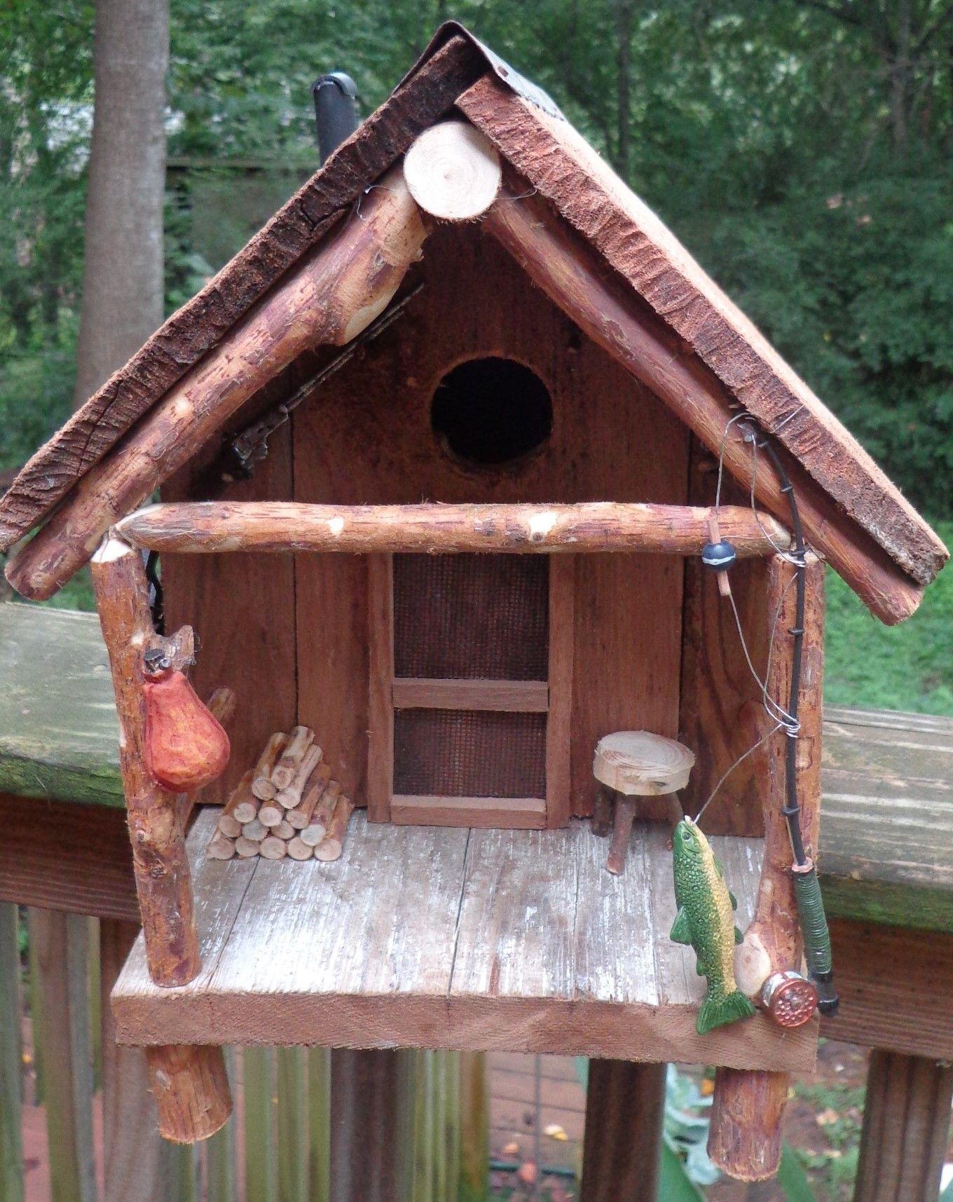 Best Birdhouse Made By My Husband With Old Cedar Shakes Bird 400 x 300