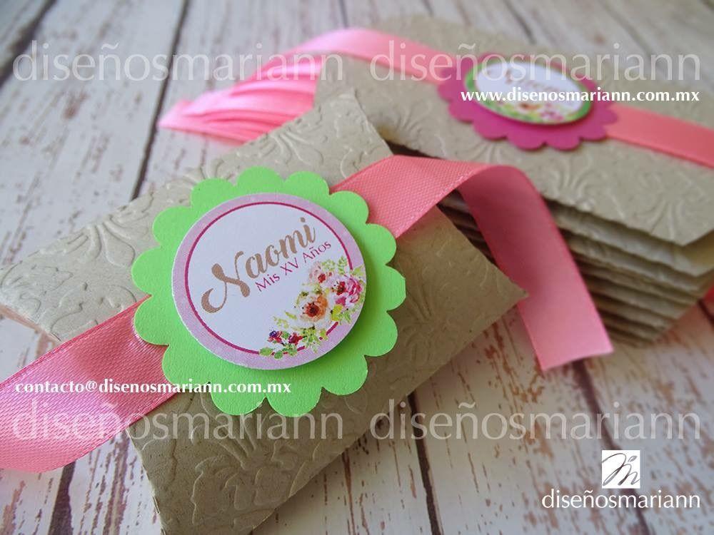 Cajas para mesa de dulces