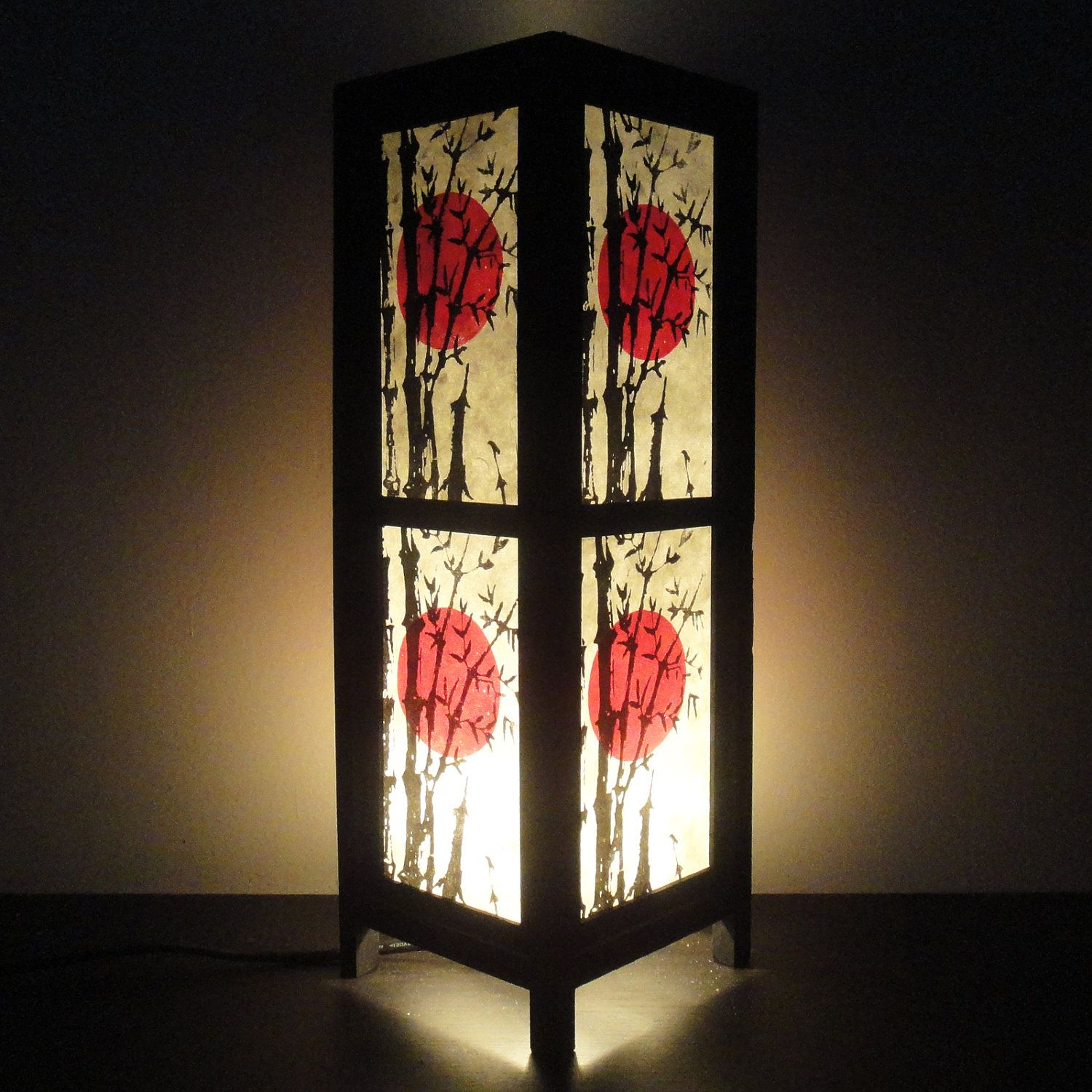 floor l lamp sakura asian handmade thai oriental vintage lamps pixball decorative com