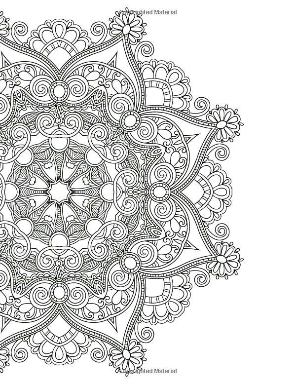 I Like The Outside Petals And Designs Not Inside Mandalas Colouring Book Just Add Colour Create A Masterpiece Beverley Lawson