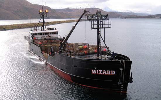 bateau de peche wizard