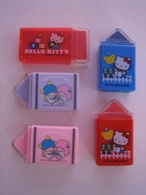Hello Kitty Pencil with Eraser Sweet Collage