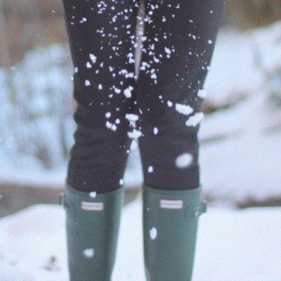 love my hunter boots