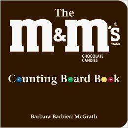 M&M Brand Chocoladesuikergoed Counting Board Book