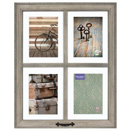 c1d2aac2bdaa35be2b6631d704025f68 - Better Homes And Gardens 4 Opening Rustic Windowpane Collage Frame