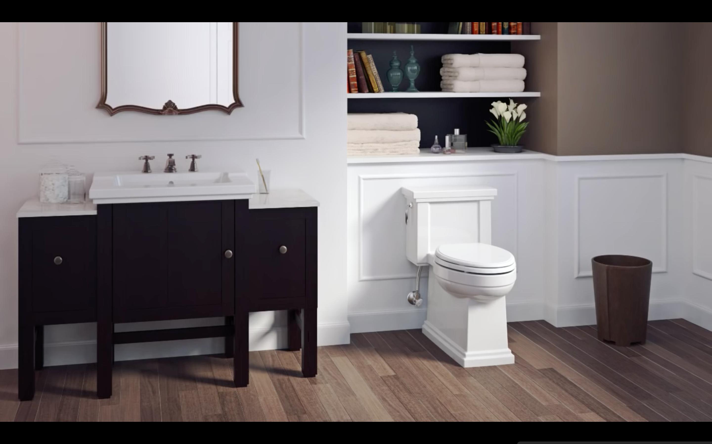 Kohler Tresham Collection Toilet Toilet Installation Shaker