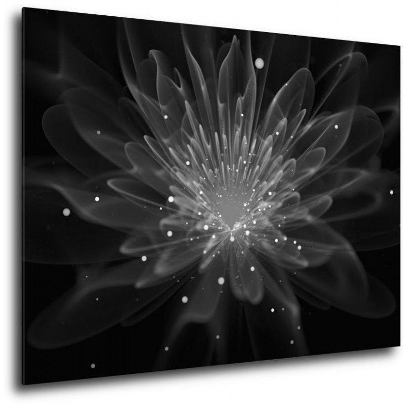 Obraz Kwiat Jednej Nocy Czarno Bialy Ceiling Lights Decor Light