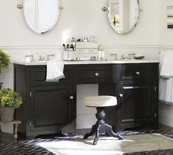Houlton Double Sink Console Pottery Barn Could We Do