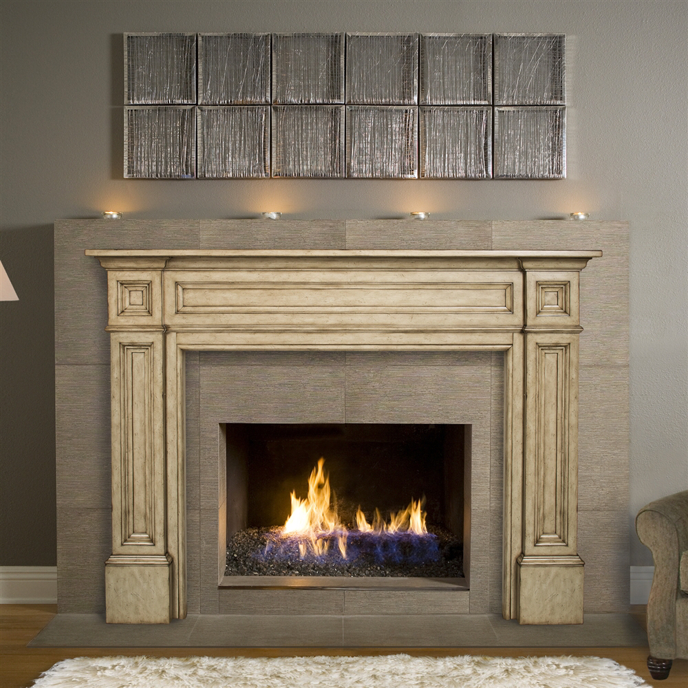 Pearl Mantels The Classique Fireplace Mantel The Shelving Store