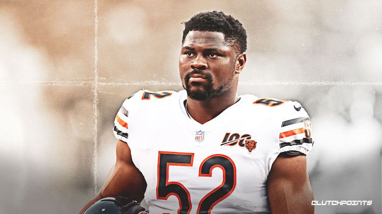 Bears Khalil Mack Reacts To Question About Feeling Vindictiveness Toward Raiders Clutchpoints Mack Oakland Raiders This Or That Questions