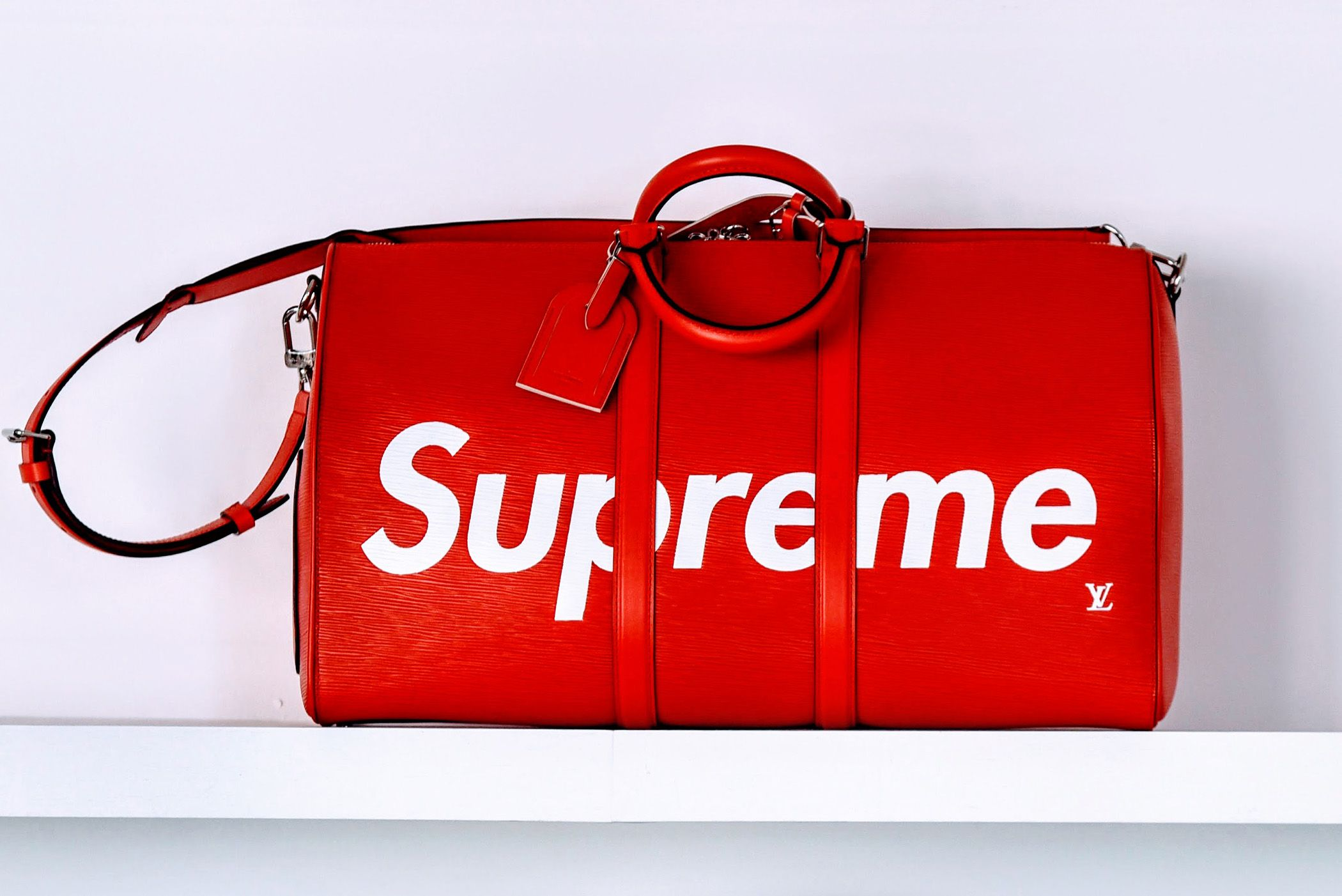 89bf4631b31 How Louis Vuitton x Supreme Took Off—See Our Exclusive Photos ...