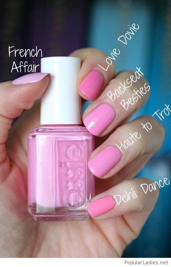 Awesome pink essie nail tones | Pinterest | Makeup, Mani pedi and Pedi