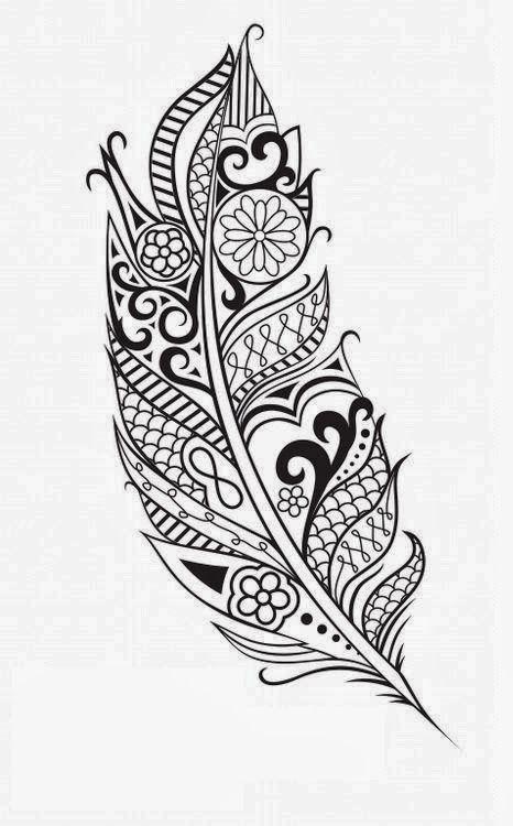 Feather Tattoo Design, Feather Tattoos