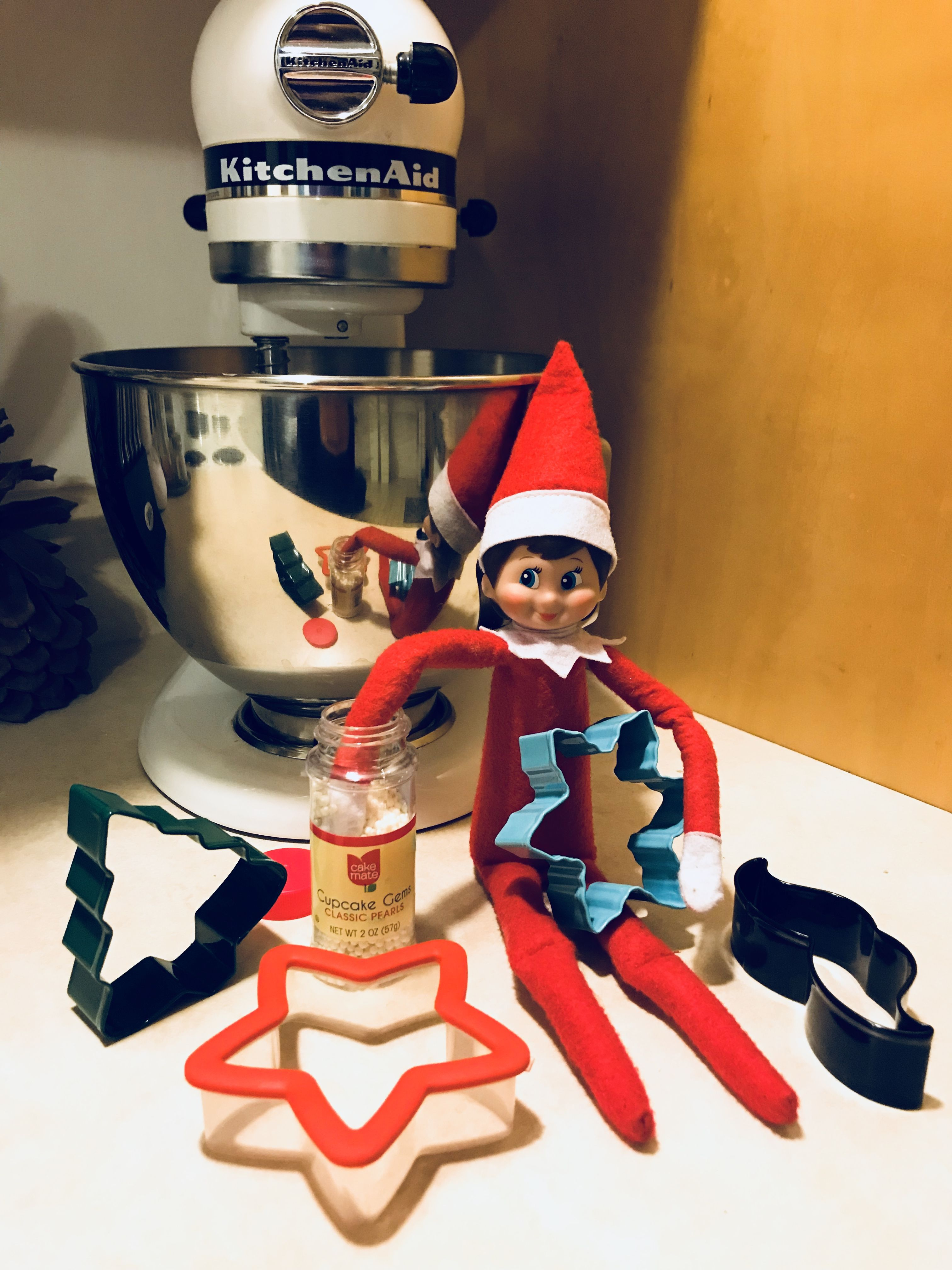 Elf on the Shelf Cookie Maker Cookie maker, Elf on the