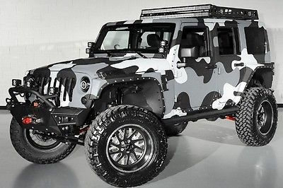starwood custom rubicon kevlar lift led winch. Black Bedroom Furniture Sets. Home Design Ideas
