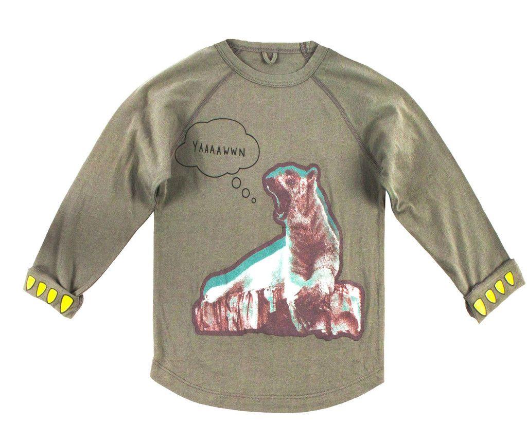 Max Boys Polar Bear Long Sleeve Tee Long sleeve tees