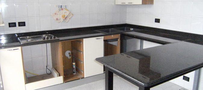 Preventivo per Piano Cucina Marmo o Granito | MarmiWeb.it | Piani ...