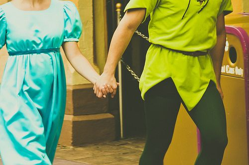 WDW Marathon Costume? Mom and Dad as Peter and Wendy and me as tink? :)