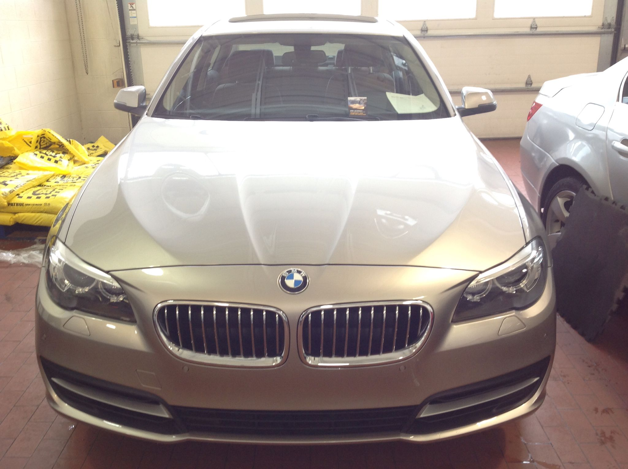 installed the clear auto bra using xpel ultimate paint protection film on this 2014 bmw 528xi [ 2048 x 1530 Pixel ]