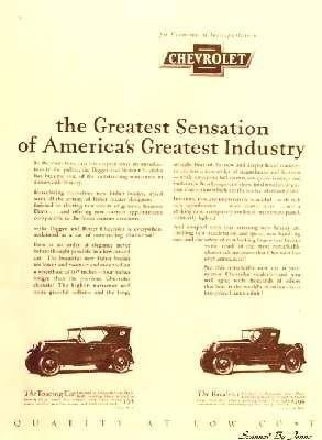 1928 chevy advertisement chevrolet vintage advertisements classic trucks pinterest