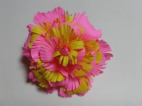 Simple Paper Flower Design Step By Step Valoblogi Com