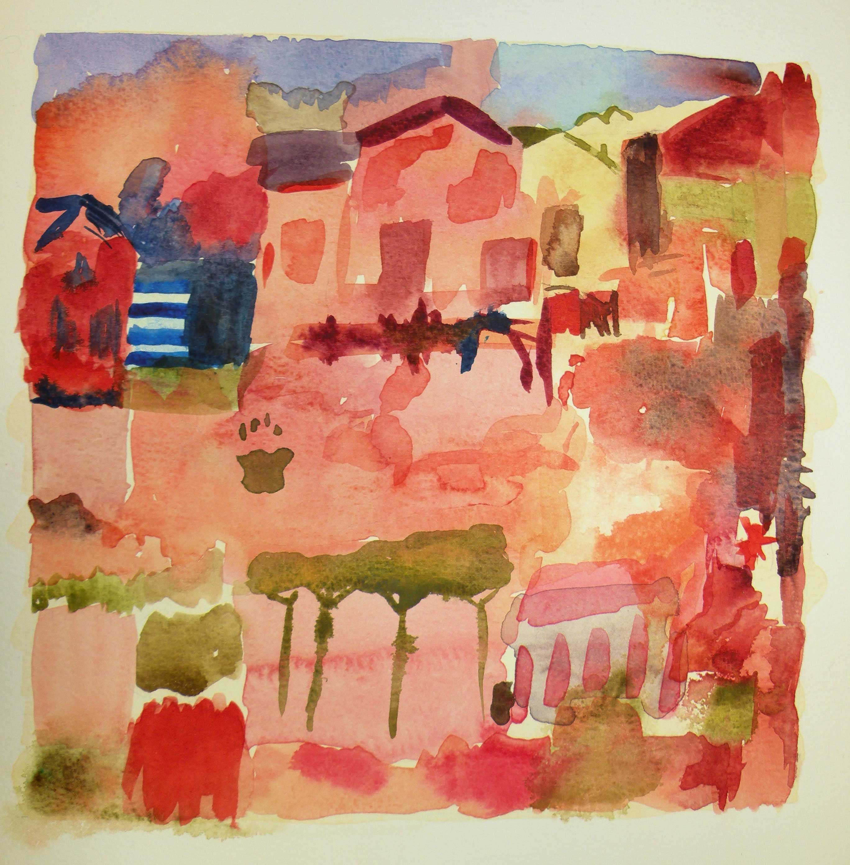 Escena Rural por Charo Onieva
