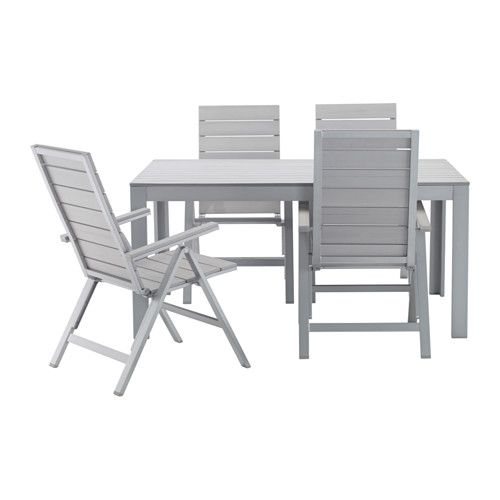 IKEA   FALSTER, Table 4 Reclining Chairs, Outdoor, , The Back Of The Chair  Can Be Adjusted To Five Different Positions.You Can Make Your Chair More ...