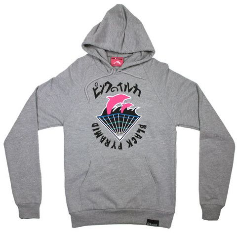 5acc6d08c9a0 Black Pyramid Pink Dolphin Hoodie